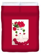 Ramblin' Rose Duvet Cover
