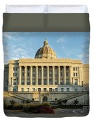 Missouri State Capital Duvet Cover