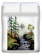 Misty Creek Duvet Cover