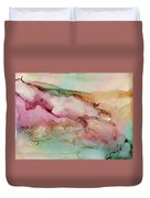 Misty Mountains To The Sea Duvet Cover