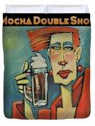 Mocha Double Shot Duvet Cover