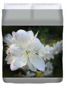 Mock Orange Blossoms Duvet Cover