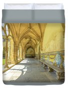 Monastery Of Santa Cruz Duvet Cover