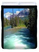 Montana River Duvet Cover