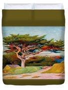 Monterey Cypress Duvet Cover