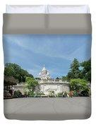 Montmarte Paris Sacre-coeur Duvet Cover