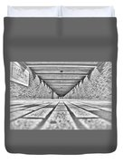 Montreal Subway Duvet Cover