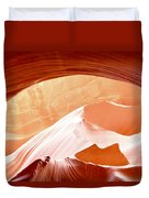 Moon Over The Mountains Duvet Cover