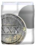 Moonshine Jar Vintage Duvet Cover