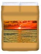 Moorea Sunset Duvet Cover
