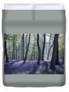 Morning Bluebells Duvet Cover