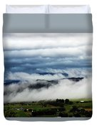 Morning Fog 2 Duvet Cover