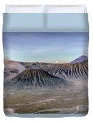 morning light Mount Bromo - Java Duvet Cover