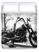 Motorbike Duvet Cover