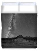 Moulton Barn Milky Way  Duvet Cover