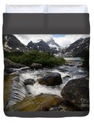 Mount Assiniboine Canada 17 Duvet Cover