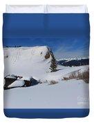 Mountain History Duvet Cover
