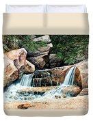 Mountain Stream Duvet Cover