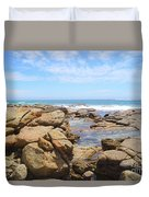 Mouth Of Margaret River Beach IIi Duvet Cover