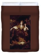 Mrs. Siddons As The Tragic Muse Duvet Cover
