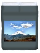 Mt Rainier Washington Duvet Cover