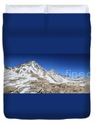 Muir Pass Panorama From High Above - John Muir Trail Duvet Cover