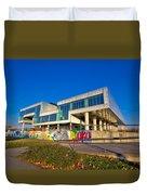 Museum Of Contemporary Art In Zagreb Exterior Duvet Cover
