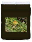 Mushroom And Moss Duvet Cover