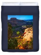 Mystic Utah Duvet Cover