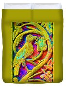 Mythical Bird. Duvet Cover