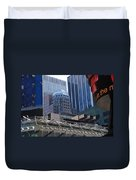 N Y C Architecture Duvet Cover