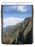 Na Pali Coast Duvet Cover