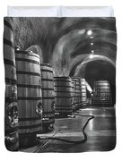 Napa Valley Wine Cellar Duvet Cover