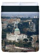Naples Italy Duvet Cover