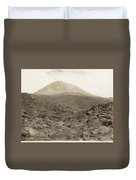 Naples: Mt. Vesuvius Duvet Cover