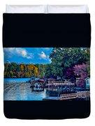 Nature Landscapes Around Lake Wylie South Carolina Duvet Cover