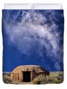 Navajo Hogan Duvet Cover