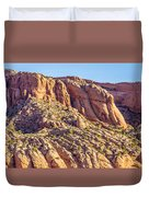 Navajo National Monument Canyons Duvet Cover