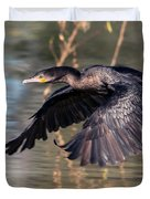 Neotropic Cormorant Duvet Cover
