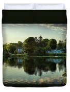 New England Scenery Duvet Cover