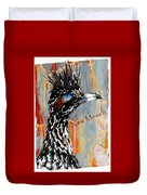 New Mexico Roadrunner Duvet Cover
