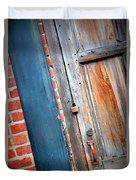New Orleans Door 2 Duvet Cover