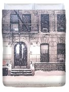 New York City Snow Duvet Cover by Vivienne Gucwa
