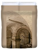 New York Library Duvet Cover