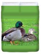 New Zealand - Mallard Ducks Duvet Cover