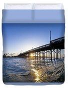 Newport Pier Curl Duvet Cover