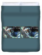 Neytiri - Gently Cross Your Eyes And Focus On The Middle Image Duvet Cover