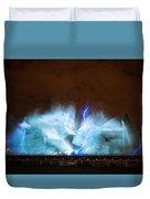 Niagara Falls Water Show Duvet Cover