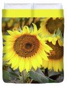 Nice Sunflowers Duvet Cover