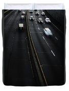 Night Traffic Duvet Cover